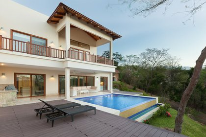 Un vistazo a una residencia en el vecindario Verdemar, en el proyecto Guacalito de la Isla, el proyecto turístico emblemático de la familia Pellas.Foto\ Tomada de la página de Guacalito Nicaragua.
