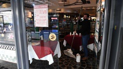 Funes de Rioja remarcó que, más allá de las medidas de aislamiento que limitaron la actividad de las empresas, hubo una enorme retracción del consumo (Foto: Maximiliano Luna)