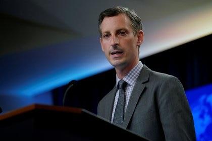 El vocero del departamento de Estado de los Estados Unidos, Ned Price. Foto: Carolyn Kaster/via REUTERS