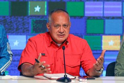 El segundo al mando del chavismo, Diosdado Cabello