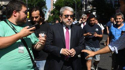 El ex jefe de Gabinete, Aníbal Fernández