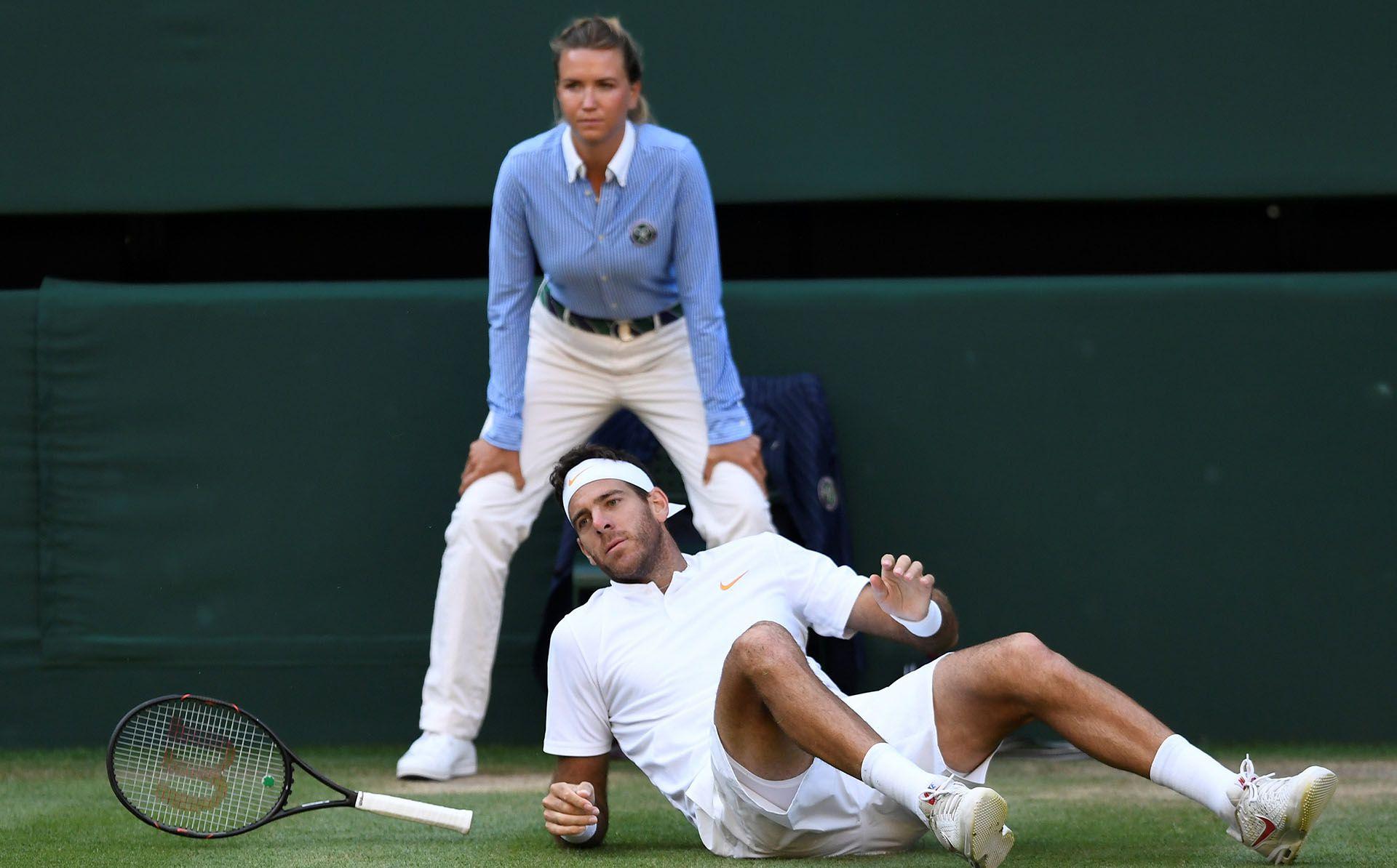 Del Potro inició su proceso de preparación para Wimbledon (Foto: Reuters)