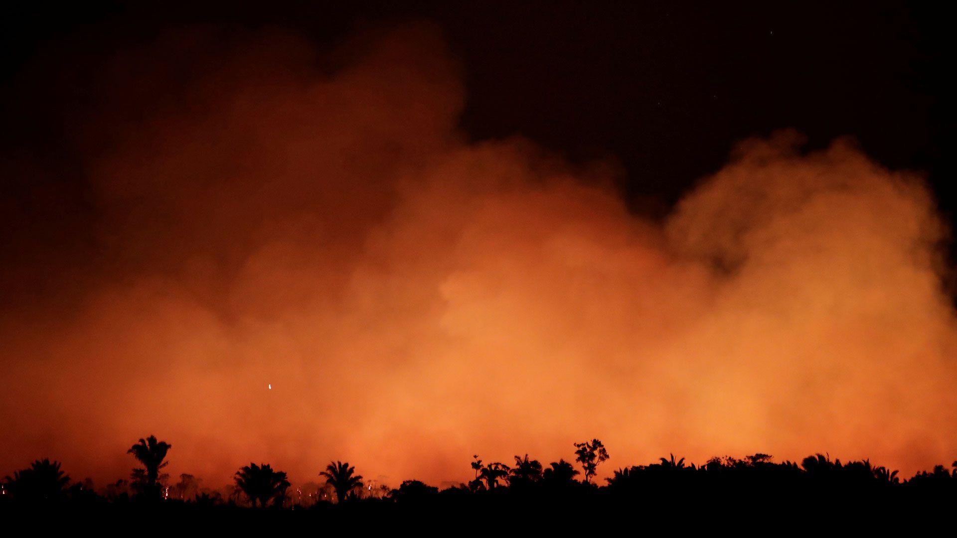 Van 17 días que el Amazona se está incendiando (Foto: Reuters)