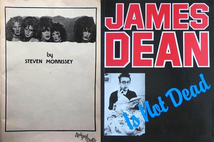 Los libros publicados por Morrissey antes de formar la banda