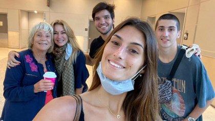 Yanina Latorre llegó a Miami con su familia (Foto: Instagram)