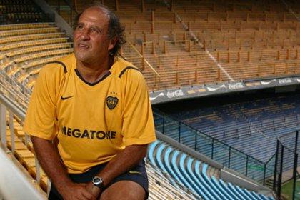 Roberto Mouzo, uno de los máximos ídolos de la historia de Boca (Foto: El Gráfico)