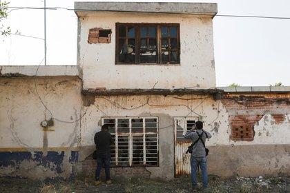 Una casa abandonada en la comunidad de El Aguaje, principal zona de guerra entre el CJNG y Cárteles Unidos (Foto: REUTERS/Alan Ortega)