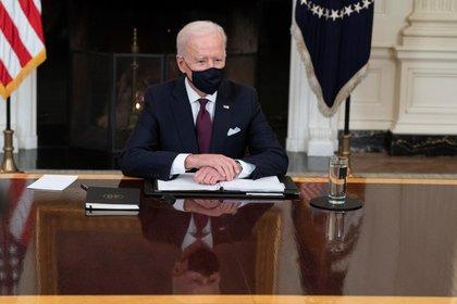 En la imagen, Joe Biden, presidente de EE.UU. EFE/EPA/Chris Kleponis