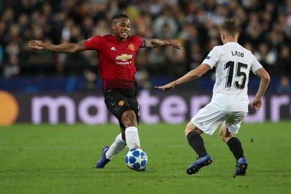 Antonio Valencia fue jugador del Manchester United por una década, de 2009 a 2019, donde jugó 241 partidos Reuters/Peter Cziborra