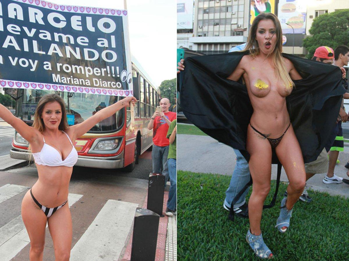 Mariana Diarco  nackt