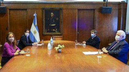 La reunión de hoy entre los ministros de Educación y Salud de la Nación y la Ciudad de Buenos Aires