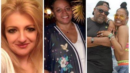 Los cuatro turistas estadounidenses que fallecieron en República Dominicana: Claudia Shaup (izquierda); Yvette Monique (centro); Nathaniel Holmes y Cynthia Day (derecha) (Foto: Facebook)