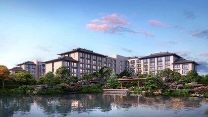 NUO Resort Hotel, uno de los impresionantes resorts de Beijing  (Universal Parks & Resorts)