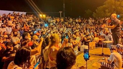 Dirigentes de la oposición viajaron a Formosa la semana pasada en medio de las protestas contra el gobierno de Gildo Insfrán (@WolffWaldo)