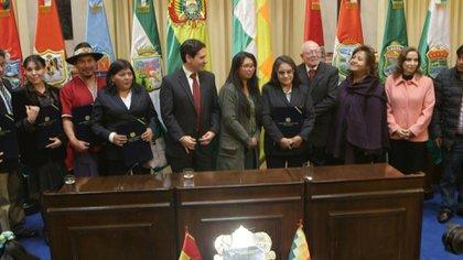 El nuevo Tribunal Supremo Electoral (TSE) de Bolivia tomó posesión el jueves tras ser elegido por el Congreso y este viernes fueron designados su presidente y vicepresidente, un paso fundamental para convocar elecciones generales luego de la crisis política que motivó la renuncia de Evo Morales a la presidencia en noviembre.