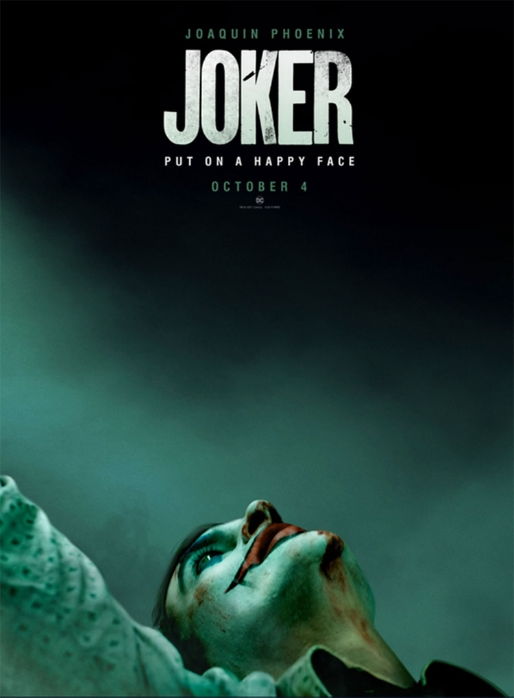 The official poster of the film, which will be released in October (photo: Warner Bros.)