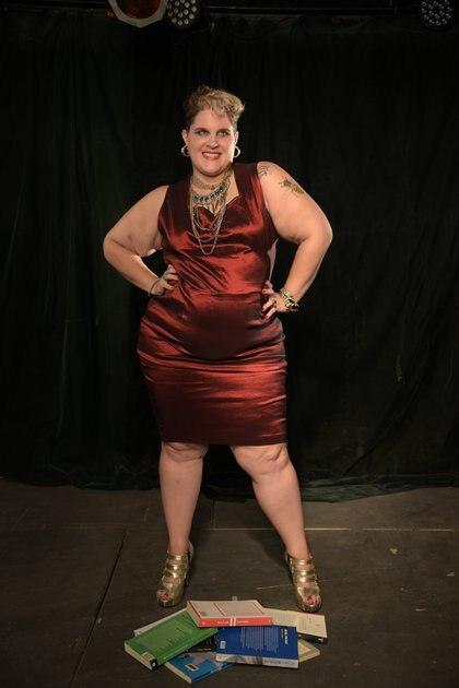 """Lux Moreno, exponente del activismo gordo y autora del libro """"Gorda vanidosa: sobre la gordura en la era del espectáculo"""" (Gisela Gorbalan)"""