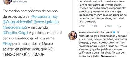 La actriz fue criticada en el programa Hoy de Televisa por sus comentarios polémicos (Foto: Twitter@ANPNL05)