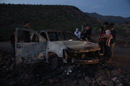 La familia LeBarón sufrió un atentado en donde nueve miembros de su familia, incluidos 4 niños, murieron (Foto: Cuartoscuro)