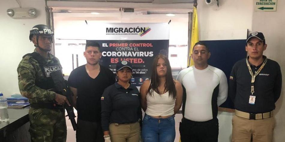 El momento en que Olivares y otros espías venezolanos fueron detenidos por la Policía colombiana