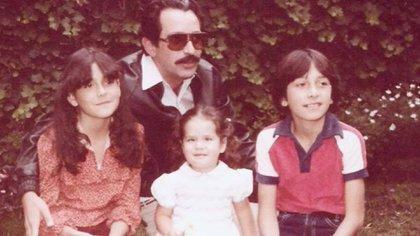 Patricia Manterola compartió unas imágenes con su padre, a modo de despedida (Foto: Instagram patriciamanterola)