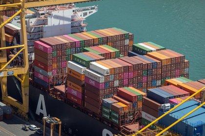 22/09/2020 Contenedores de mercancías en el Puerto de Barcelona POLITICA CATALUÑA ESPAÑA EUROPA BARCELONA ECONOMIA PUERTO DE BARCELONA
