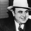 Shutterstock Chicago, Illinois: January 1, 1930. A portrait of American gangster, Al Capone.