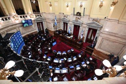 Una vista aérea del Senado (Foto: Senado)