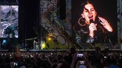 El show de Lana del Rey en el Lollapalooza