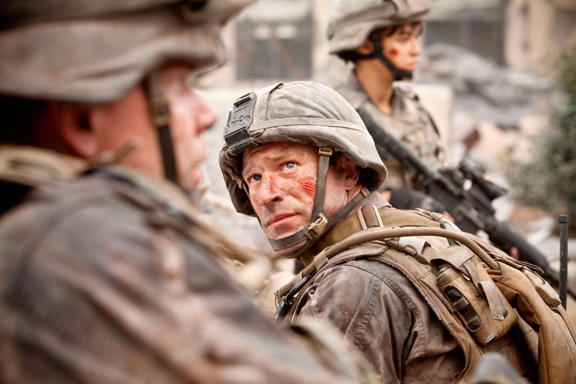 """Aaron Eckhart, protagonista de """"Battle: Los Angeles"""""""