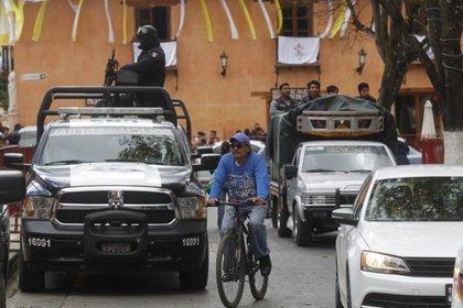 El rescate se dio en medio del operativo de búsqueda de un bebé indígena que desapareció a finales de junio en un mercado, según detalló la Fiscalía de Chiapas. (Foto: EFE)