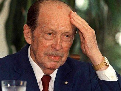 En la imagen, el expresidente paraguayo Alfredo Stroessner. EFE/Archivo