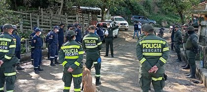 Encuentran cuerpo de María Angel Molina. Foto: Policía.
