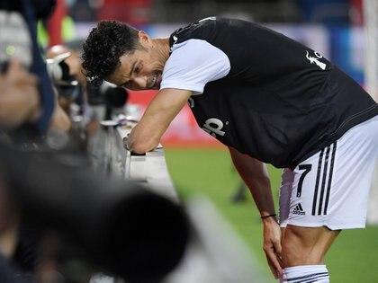 Cristiano Ronaldo pidió jugar para poder aumentar su cuenta goleadora (Reuters)