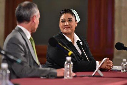 Fabiana Maribel Zepeda es la titular de la División de Programas de Enfermería en el Instituto Mexicano del Seguro Social. (Foto: Cortesía)