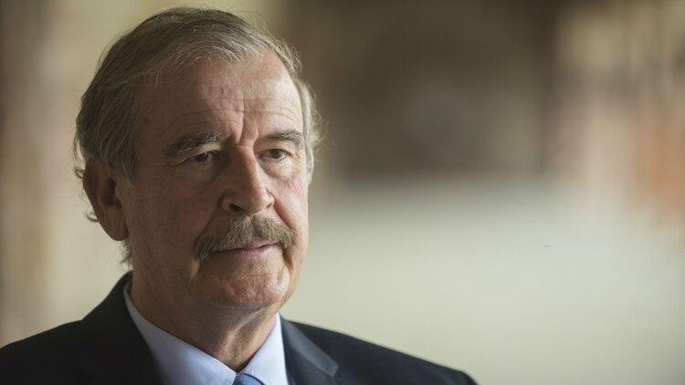 aeafd8b86 El ex presidente mexicano Vicente Fox se presentó a la Cannabis Conference  (Foto  Archivo
