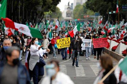 La empresa ha clasificado las declaraciones del movimiento hasta por cinco años para proteger la unidad de la nación (Foto: REUTERS / Carlos Jasso)