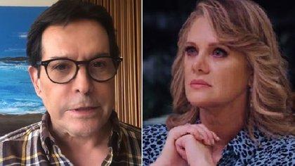 """Juan José """"Pepillo"""" Origel no se quedó callado ante los ataques de Erika Buenfil (IG: juanjoseorigel / erikabuenfil50)"""