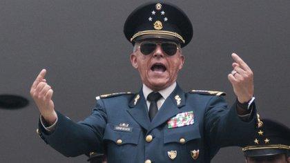 Salvador Cienfuegos Zepeda fue arrestado el 15 de octubre pasado en Los Ángeles, California (Foto: Cuartoscuro)