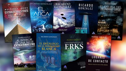 Algunos de los libros publicados por González