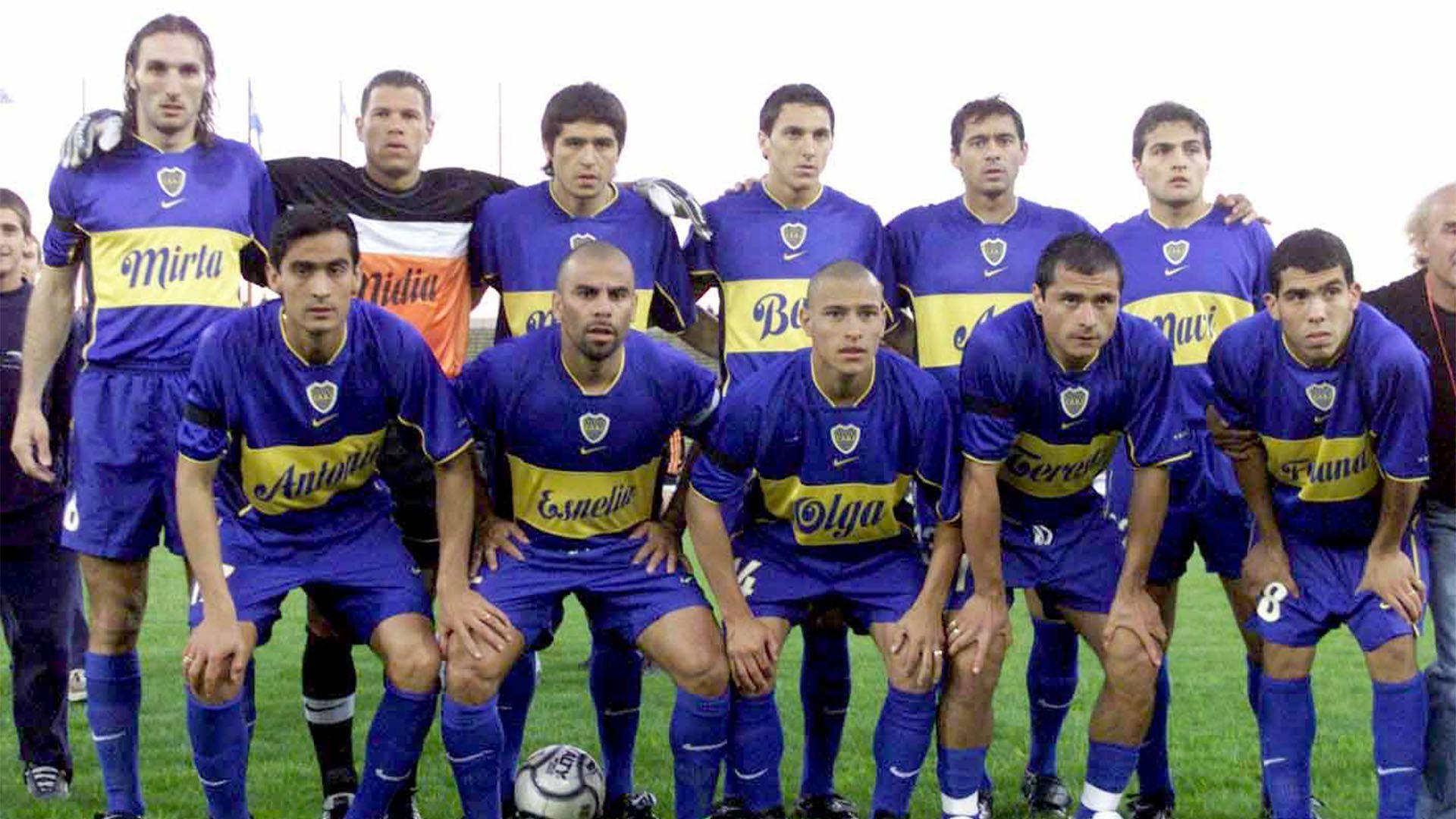Carlos Tevez Boca Talleres 2001