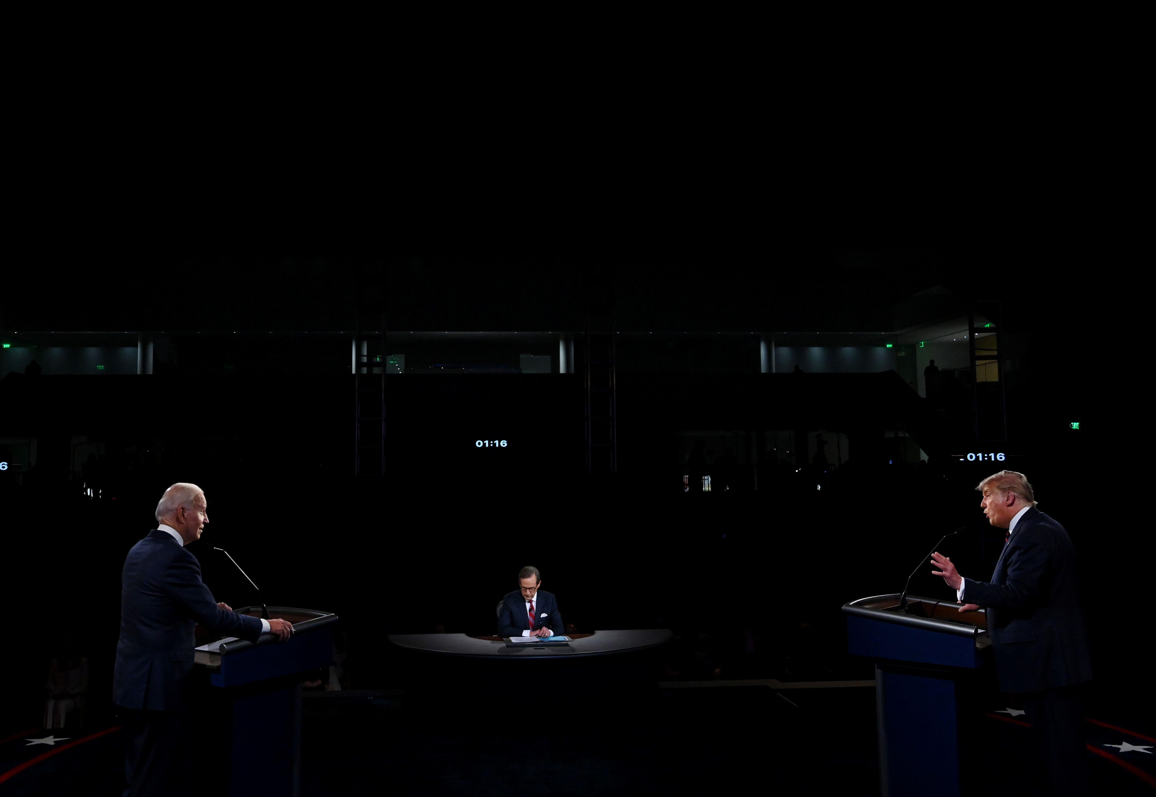 Joe Biden y Donald Trump (Olivier Douliery/Pool via REUTERS)