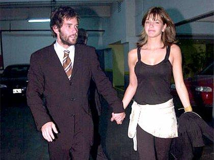 Nicolás Cabré y Marcela Kloosterboer