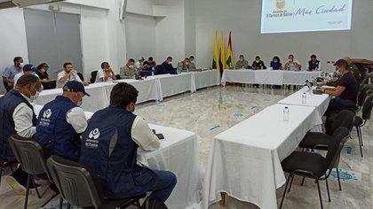 Resultados de Consejo Seguridad en El Salado Twitter: Nancy Patricia Gutiérrez