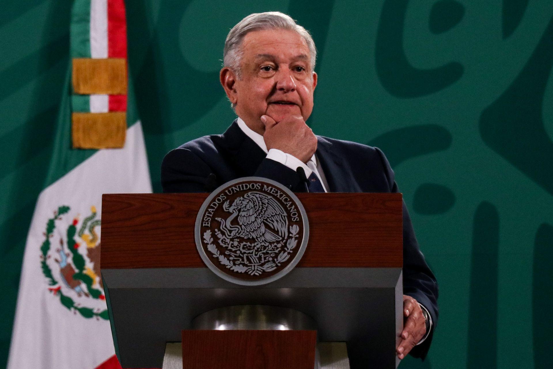 AMLO - ANDRES MANUEL LOPEZ OBRADOR - MEXICO - CONFERENCIA - PRESIDENCIA - 14012021