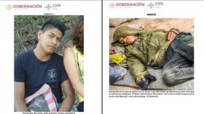 José Antonio Tizapa Legideño tenía 20 años al momento de su desaparición (Foto: Gobierno de BC)