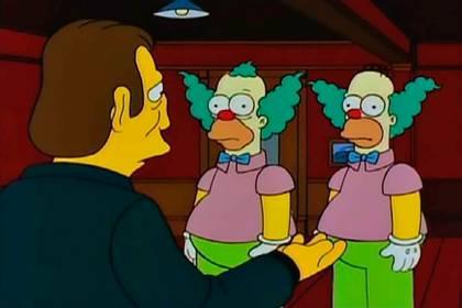 El parecido entre Homero y Krusty es innegable
