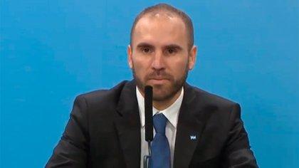 El ministro de Economía Martín Guzmán anunció medidas para aliviar los efectos que conlleva la pandemia del coronavirus.
