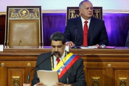 Diosdado Cabello, presidente de la Asamblea Nacional Constituyente (REUTERS/Manaure Quintero)