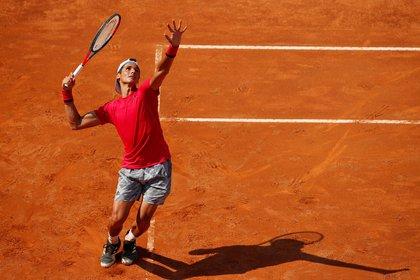 Fede Coria logró eliminar al francés en su casa, Roland Garros (Foto: Reuters)